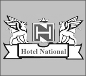 Logo des Hotel National Bad Düben